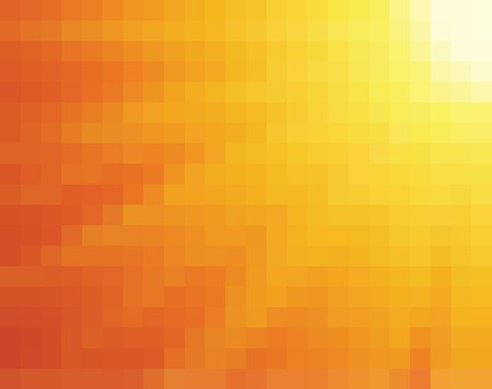 Abstract yellow and orange light burst vertical square mosaic  background.