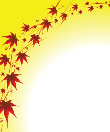 autumnally: autumn background from a leaves