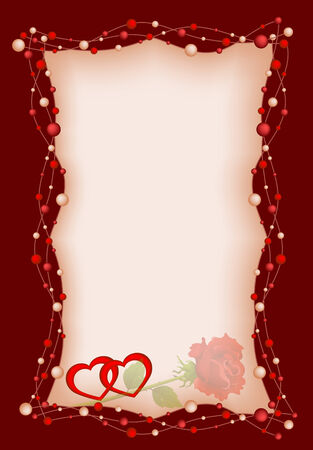 dekor: Background by the Valentines day with red roses