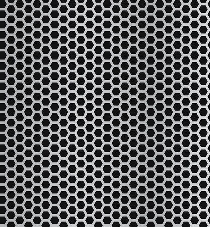 Vector Metall Grill nahtlose Muster