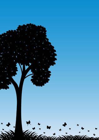 genealogical: Resumen, alegor�a, oto�o, negro, bot�nica, rama, bush, clip de, equipo, cultivada, rizado, da�ado, angustiado, entorno, et�reo, familiar, fantas�a, geneal�gico, verde, crecimiento, grunge, icono, ilustraci�n, individualidad, aislado, hoja, la vida, la naturaleza, Vectores