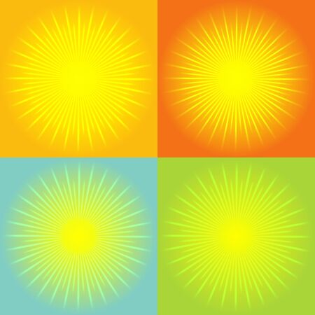 sunburst: Sunburst abstract background. vector
