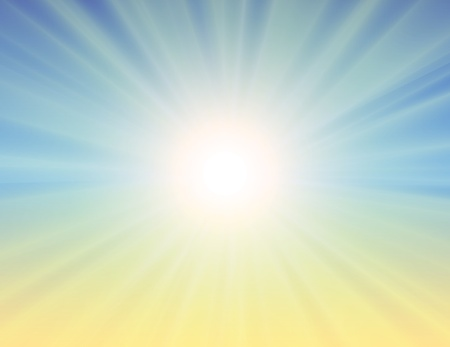 sol: Sunburst abstract background. vector
