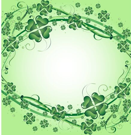 four texture: clover background for the St. Patricks Day