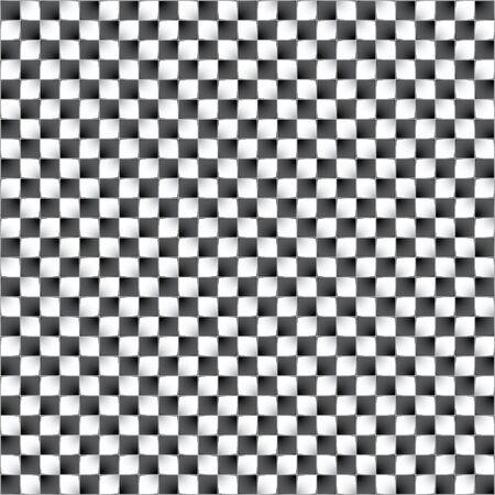 Optical illusion. Vector illustration. Feeling of movement of blocks. 向量圖像
