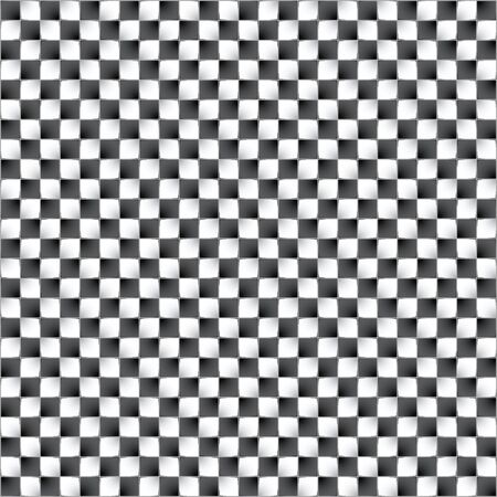 disappear: Optical illusion. Vector illustration. Feeling of movement of blocks. Illustration