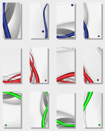 tech abstract background composition - vector illustration Vector