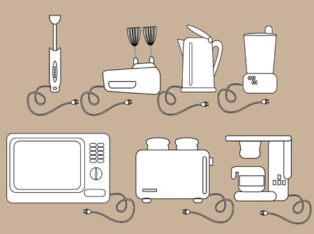 the miller: Household appliances, kitchen Electrical appliances  Icons
