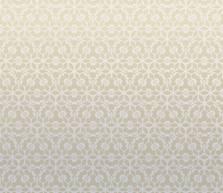 tonality: Pattern from decorative elements in a light brown tonality Illustration