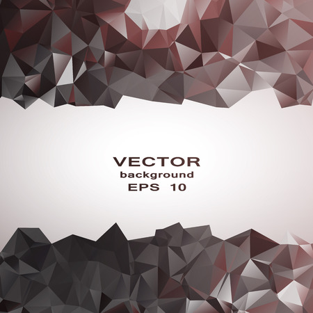 Silvre crystal abstract pattern. Business Design Templates Vector