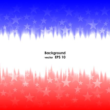 Día de los presidentes de fondo estados unidos Estrellas ilustración vectorial Ilustración de vector