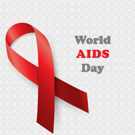 aids: Aids Awareness. World Aids Day concept. Vector illustration