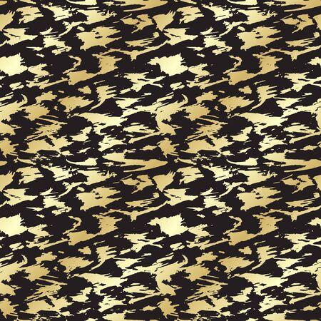 Vector seamless pattern. Résumé de fond avec des coups de pinceau.