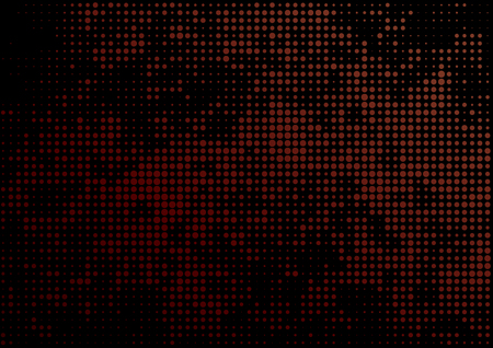 bstract: Vector illustration with four halftone patterns. bstract vector