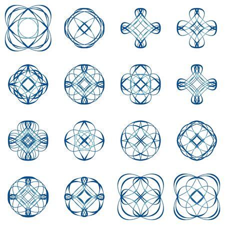 decoration elements: Calligraphic design elements and page decoration
