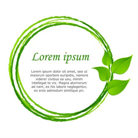 arbol de la vida: hojas verdes o de hojas de diseño gráfico del icono