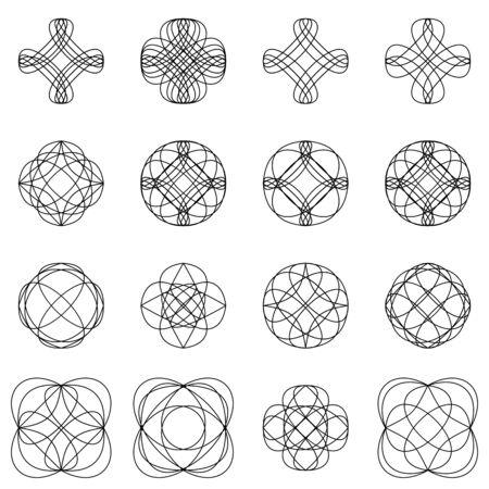 calligraphic design: Calligraphic design elements and page decoration