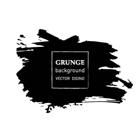 grunge banner: Grunge banner abstract template.