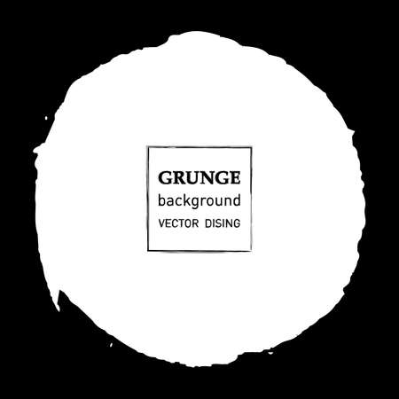 grunge banner: Grunge banner. Abstract vector template.