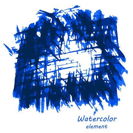 artistic: Watercolor vector background.