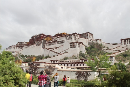 potala: Overlooking the Potala Palace Editorial