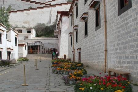 potala: Potala Palace inside the building
