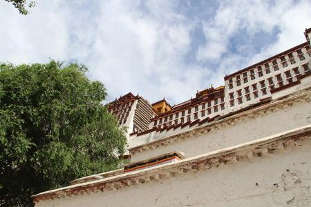 potala: Potala Palace walls