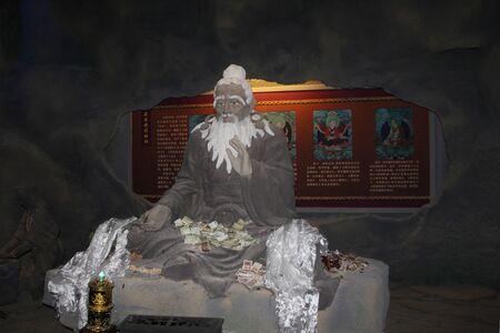 przodek: Tibetan medicine ancestor statue Publikacyjne