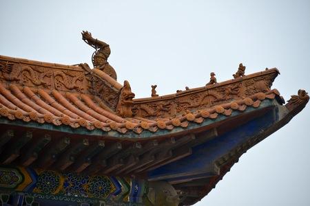 traufe: Drachen-f�rmigen dekorative Eimer Traufe