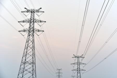 High voltage power grid