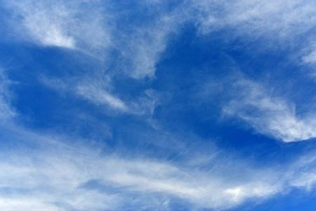 Blue sky and white clouds Фото со стока