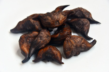 A bunch of water chestnut