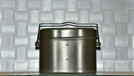 aluminum: Military aluminum lunch box