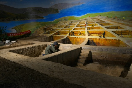 archaeological: Archaeological field recovery scenarios