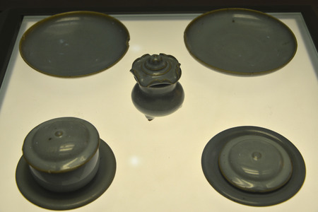 glaze: Jun glaze Bowl