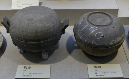 ding: Han Dynasty pottery boxes and Tao Ding