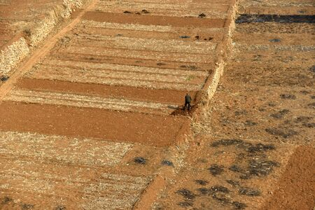 loess: Working farmers on Chinas loess plateau