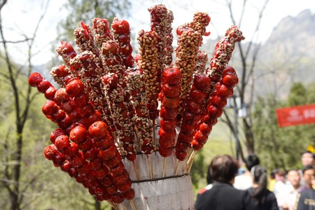 candied: Temple of candied haws