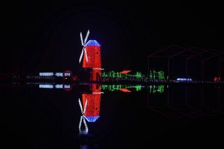 art exhibition: Modern lighting art exhibition