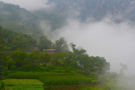 farming area: People in the Taihang Mountains