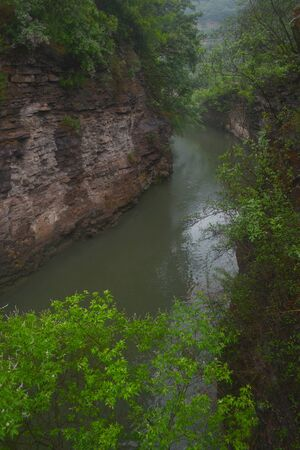 Zhang River scenery 版權商用圖片