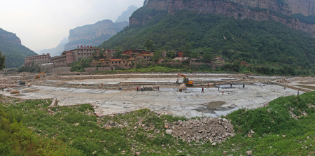 harnessing: River Management Project