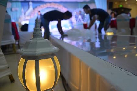 decoration: Wedding decoration