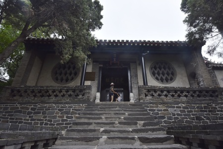 ancient building in China