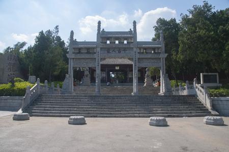 Wuhou Memorial Temple in Nanyang City of Henan