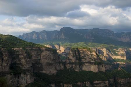 Taihang Mountains Banco de Imagens