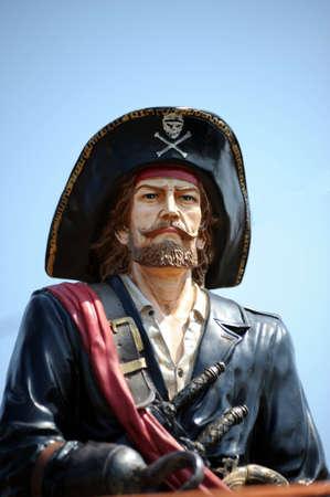 sombrero pirata: Pirata Foto de archivo