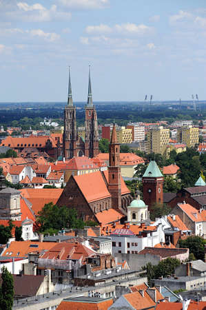 Wroclaw Old Town Stock Photo