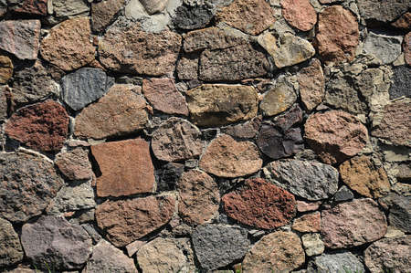 An old stone wall