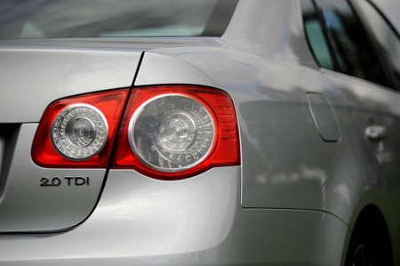 Car rear lamps
